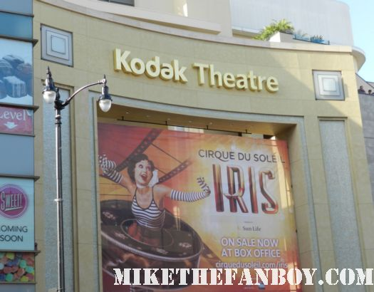 the kodak theatre in hollywood marquee soon to be the dolby theatre academy awards theatre