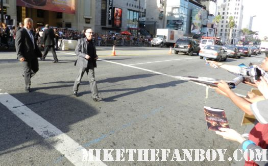 jackie earle haley signing autographs at the dark shadows world movie premiere nightmare on elm street watchmen