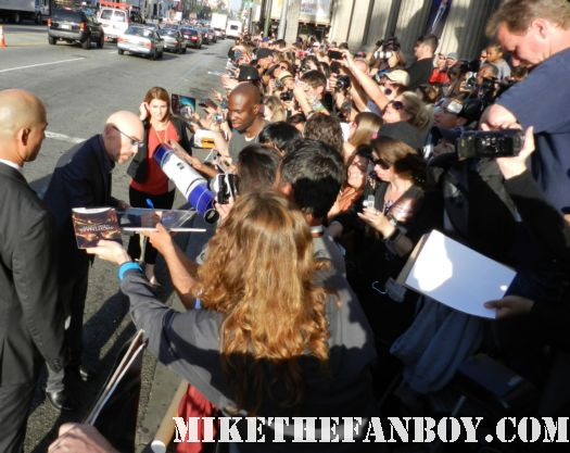 jackie earle haley signing autographs at the dark shadows world movie premiere nightmare on elm street watchmen