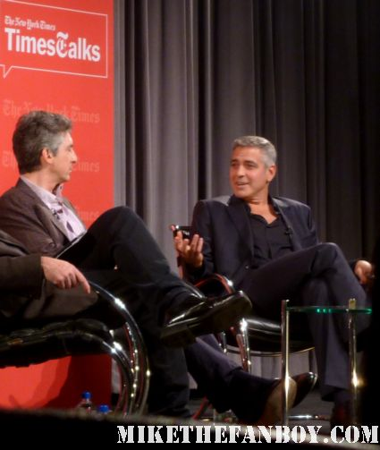 the times talk with george clooney and alexander payne talking about the descendants rare promo press