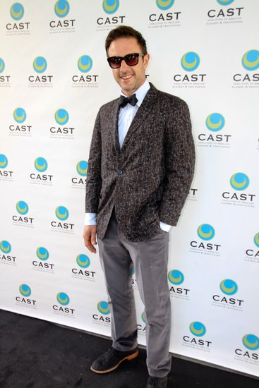 David Arquette attends the CAST event at the skirball center The Coalition to Abolish Slavery & Trafficking