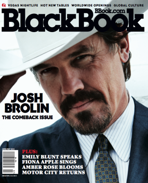 josh-brolin-blackbook-junejuly-2012- (6) Josh brolin rare magazine cover promo photo shoot cowboy rare hot rare promo men in black 3 milk true Grit