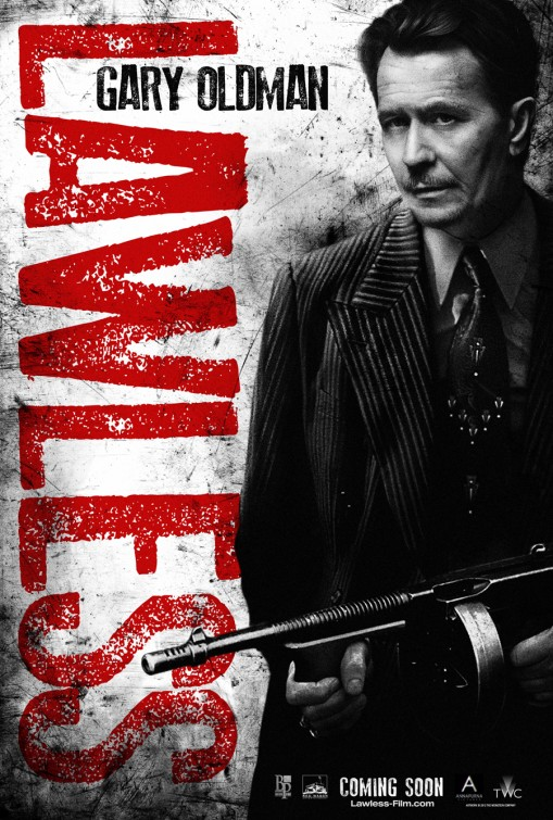 lawless_ver5 rare lawless gary oldman rare one sheet movie poster promo wienstein movie poster promo