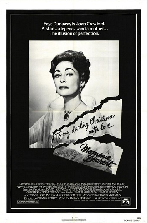 mommie_dearest rare promo one sheet movie poster promo joan crawford rare teaser poster mother's day movie