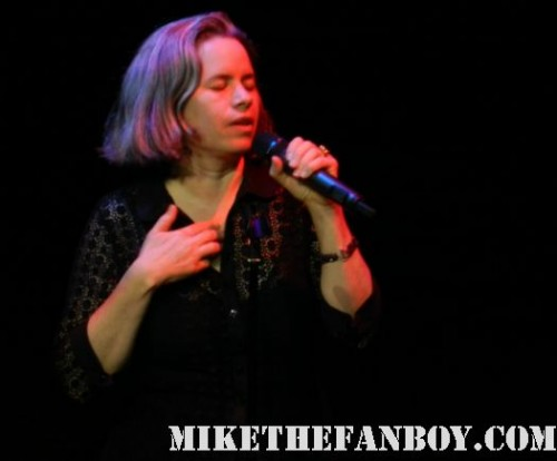 natalie merchant live in concert santa ana ca 2012 yost theater tigerlily ophelia motherland leave your sleep rare promo photo concert photo rare promo