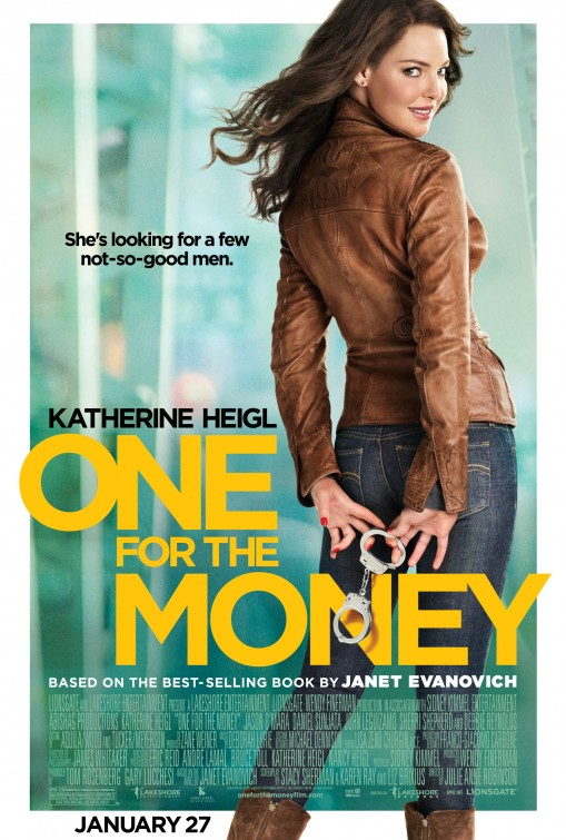 one_for_the_money rare promo one sheet movie poster katherine heigl cop movie hot sexy model