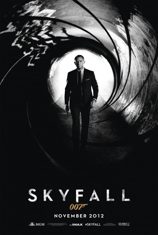 james bond 007 skyfall teaser movie poster promo daniel craig rare promo one sheet movie poster promo