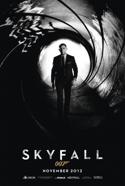 james bond 007 skyfall teaser movie poster promo daniel craig rare promo one sheet movie poster promo