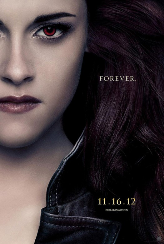 kristen stewart twilight breaking dawn part 2 one sheet movie poster individual Bella poster hot sexy shirtless werewolf rare promo