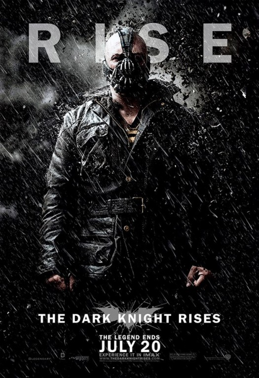 tdkr-bane-poster-snow the dark knight rises bane tom hardy rare promo one sheet movie poster promo individual promo poster one sheet movie poster