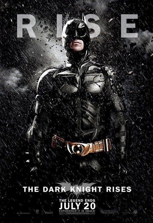 tdkr-batman-poster-snow christian bale dark knight rises individual promo movie poster promo batman rare promo hot sexy one sheet movie poster