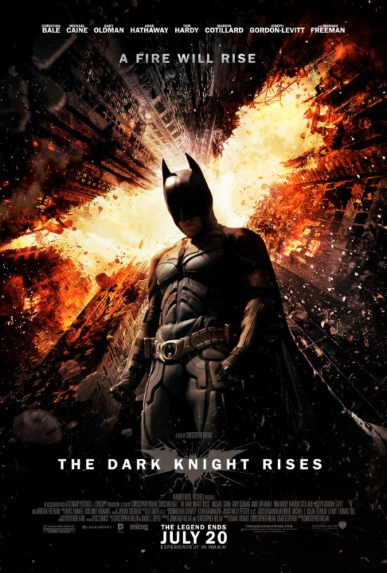 the-dark-knight-rises-fire-poster-rare promo the dark knight rises one sheet movie poster promo christian bale warner bros hot sexy superhero movie anne hathaway catwoman