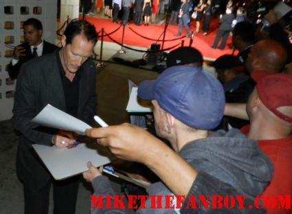 Christopher Heyerdahl signing autographs at the true blood season 5 premiere at the arclight in hollywood rare promo hot