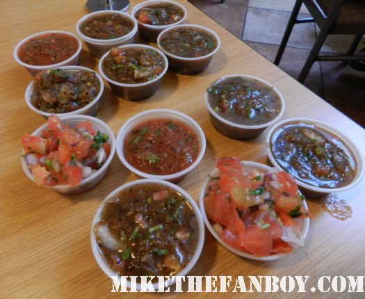 salsa at cinco de mayo at sharky's in beverly hills mmmmmm salsa