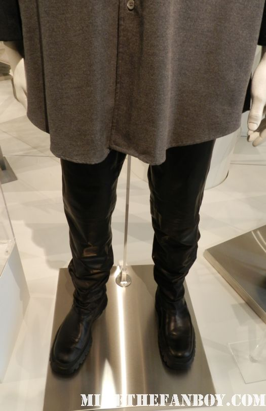 ross leather pants from friends rare prop costume david schwimmer paley center out of the box
