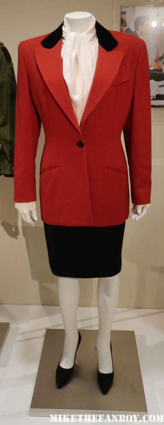 murphy brown candice bergen rare promo costume and prop display paley center out of the box exhibit