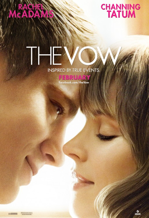 the vow rare one sheet movie poster promo sexy channing tatum with rachel mcadams rare promo one sheet movie poster