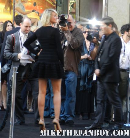 cameron diaz arriving to the  at the what to expect when you're expecting world movie premiere