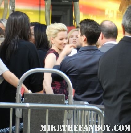bitchy elizabeth banks arriving to the  at the what to expect when you're expecting world movie premiere