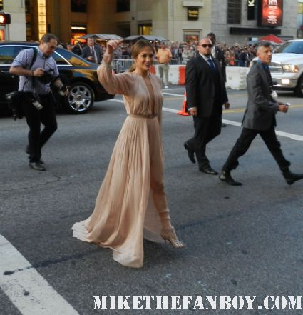 jennifer lopez aka jlo signing autographs for fans at the  what to expect when you're expecting world movie premiere