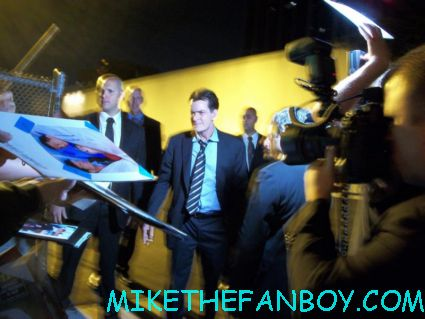 russell brand signing autographs but dissing fans at the fx upfront party at lure in hollywood for anger management
