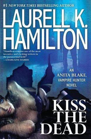laurell k hamilton kiss the dead book jacket cover anita blake series vampire hunter