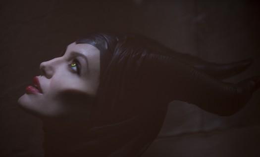 MALEFICENT rare promo still Angelina Jolie Walt Disney sleepy beauty remake 2013