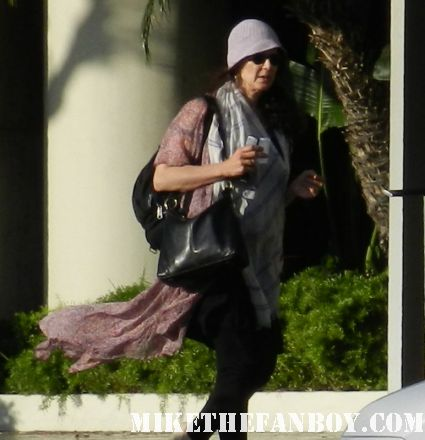 a crazy woman with a thousand scarves walking down the streets of hollywood rare promo hot sexy hollywood crazy people