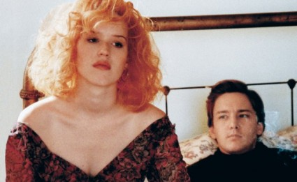 Molly ringwald and andrew mccarthy in the horrible film fresh horses 1980's bad movies brat pack films