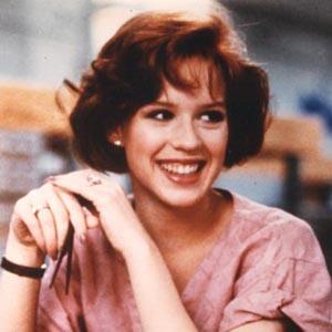 Molly Ringwald from breakfast club press promo photo 1980s john hughes cult classic teen film