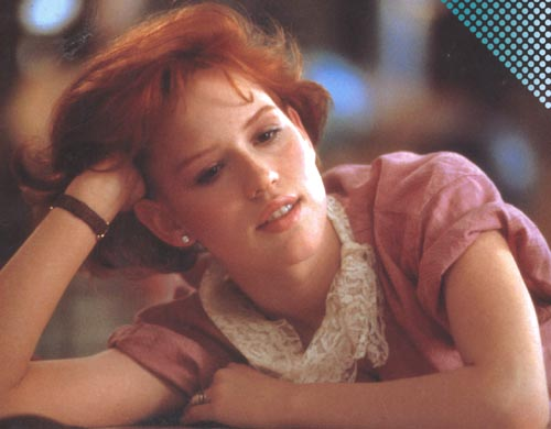 Molly_Ringwald rare pretty in pink press promo still hot sexy redhead rare 1980s icon pretty in pink promo still breakfast club