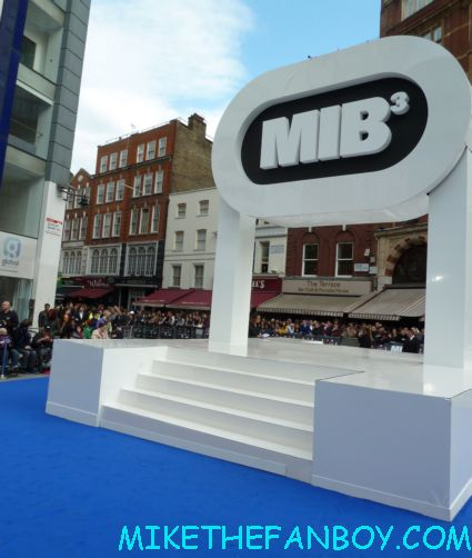 the men in black III 3 uk movie premiere red carpet with will smith josh brolin emma thompson and more