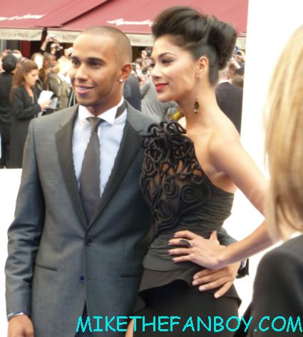 lewis hamilton and nicole scherzinger  arriving to the uk premiere of men in black III 3 men in black dancers the men in black III 3 uk movie premiere red carpet with will smith josh brolin emma thompson and more