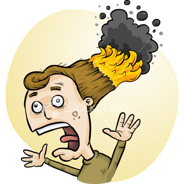 cartoon image of a woman with her hair on fire burning hair rare clip art hot sexy fire woman hair