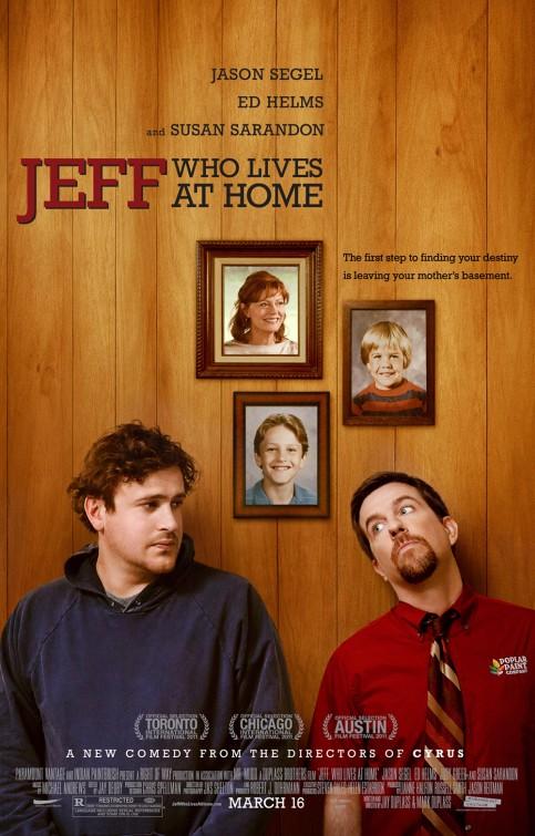 jeff_who_lives_at_home rare promo movie poster promo jason segel ed helms rare