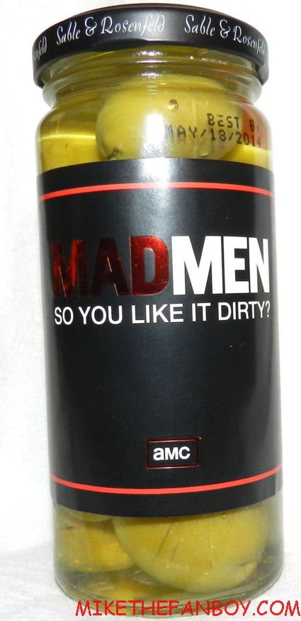 mad men promo jar of olives given out to members of the television academy emmys rare promo