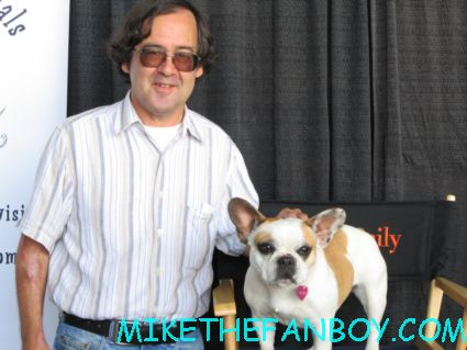 OTG John from Mike The Fanboy with brigitte aka stella from Modern Family at the Pet Expo 2012
