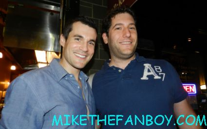 mike the fanboy with serenity and firefly star sean maher on the streets of hollywood hot sexy rare promo young playwrights festival