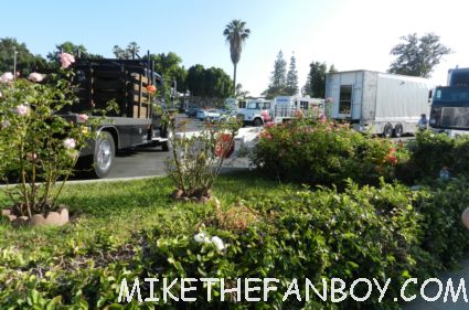 weeds season 8 on location set kevin nealon rare on location promo filming pasadena ca rare