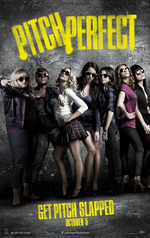 pitch perfect advance movie poster promo hot sexy one sheet anna kendrick rebel wilson anna camp