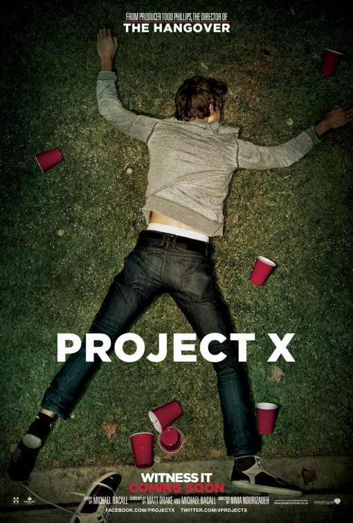 project_x rare promo one sheet movie poster promo found footage movie poster promo rare hot