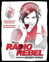 radio-rebel-debby-ryan rare promo movie poster image hot rare jessie star sexy we got the beat