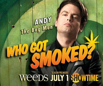 weeds season 8 justin kirk andy botwin rare promo individual promo poster showtime weeds season 8 weeds season 7 promo individual promo poster hot sexy rare