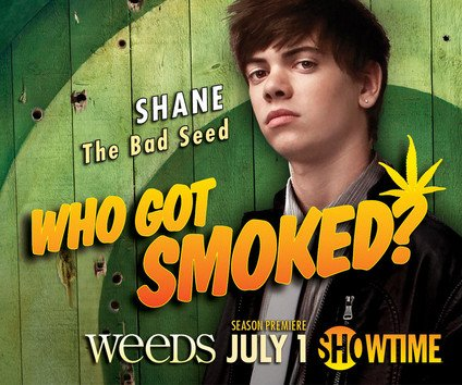 weeds season 8 alexander gould shane botwin rare promo individual promo poster showtime weeds season 8 weeds season 7 promo individual promo poster hot sexy rare