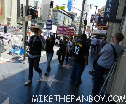 jesus protestors at the rock of ages movie premiere red carpet sunset strip rare promo tom cruise rare signing autographs malin akerman