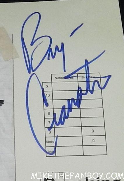 bryan cranston signed autograph breaking bad season 3 rare promo target mini poster promo