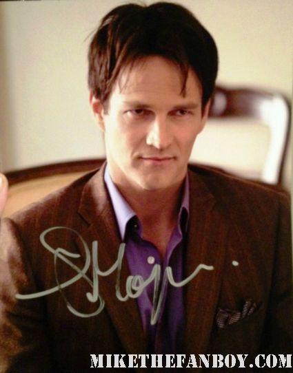 steven moyer signed autograph photo rare promo hot sexy vampire bill compton from the true blood season 5 premiere