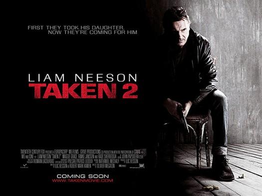 taken 2 new movie poster uk quad movie poster liam neeson rare promo hot sexy british movie poster promo