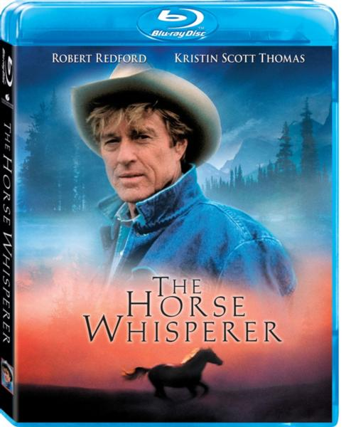 the horse whisperer blu ray dvd cover promo cover art rare hot sexy robert redford horse-whisperer-movie promo movie still blu ray movie review robert redford scarlett johansson hot child actress