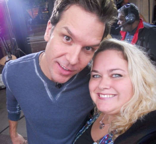 mike the fanboy writer pretty in pinky with star dane cook the sexy hot comedian rare good luck chuck